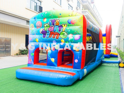 Party Time Outdoor Water Obstacle Course