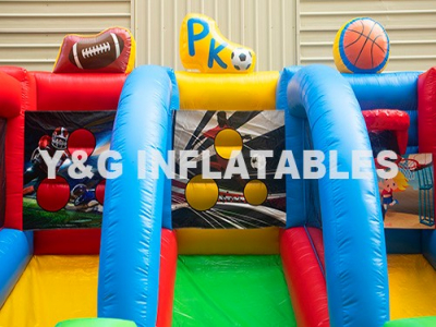 Giant Inflatable Basketball Hoop