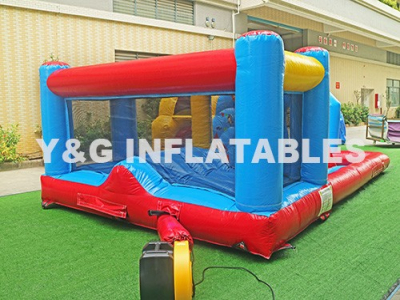 Kids Party Bouncy Castle With Pool & Waterslide