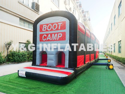 Boot Camp Park Bounce House Obstacle Course Race