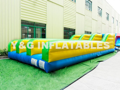 3-Lane Bungee Run Inflatable For Sale