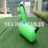 Inflatable Horse Riding Game Kids Bouncy Horse