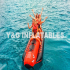 Inflatable Double Tube Boat Towables