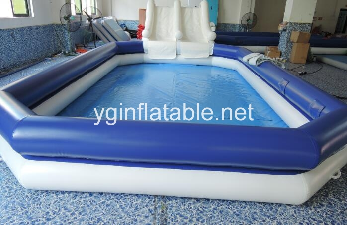 Get an inflatable pool in this summer