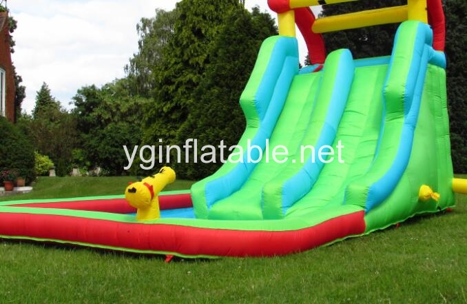 How to dry an inflatable water slide