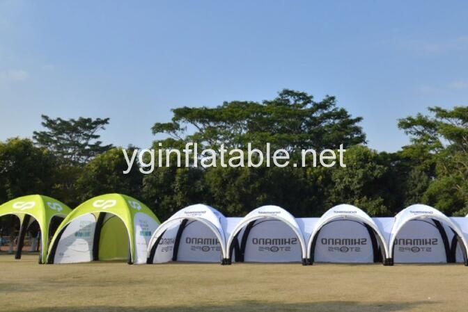 Inflatable tent can promote your company's brand