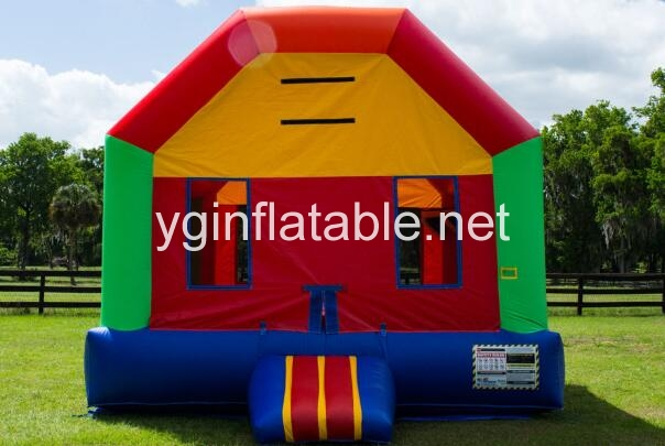 How do you repair inflatable bounce house