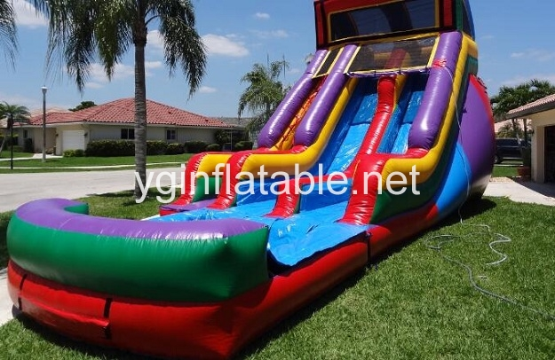 The Inflatable Water Slide Safety Rules