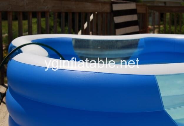 What ways to set up an inflatable pool
